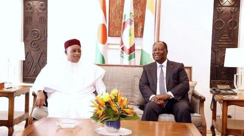 Les Présidents Issoufou Mahamadou et Alassane Ouattara décident de dynamiser, diversifier et renforcer davantage la coopération entre les deux pays