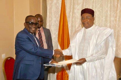Le Président de la République a reçu dimanche le Ministre ghanéen de la Sécurité Nationale