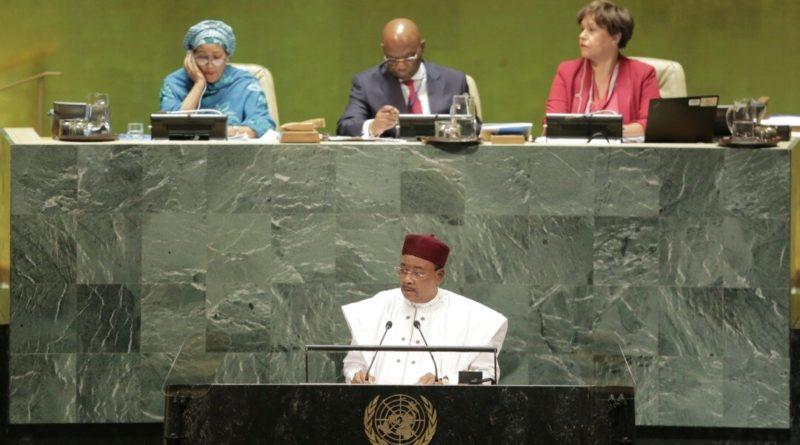 Intervention du Président de la République lors du Débat Général de la 74ème Session Ordinaire de l'AG de l'ONU