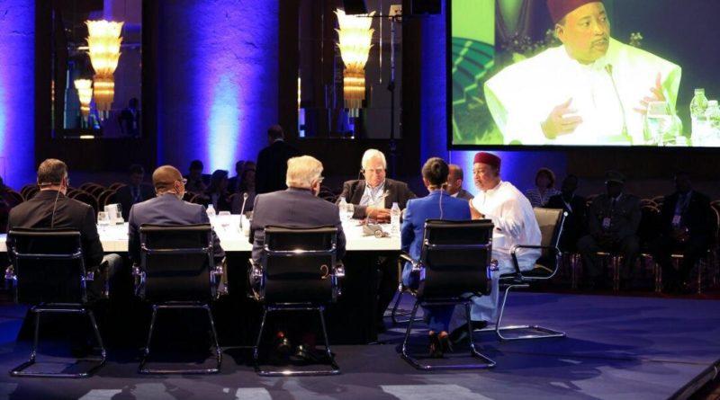 17ème Forum de Rhodes : Le Président de la République a participé activement samedi après-midi à Rhodes (Grèce) au panel intitulé : « vers un nouveau partenariat pour l'Afrique »