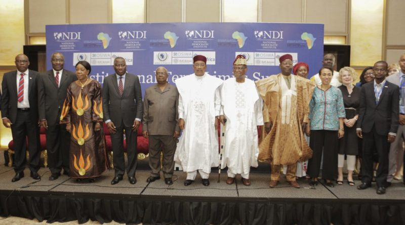 Intervention du Président Issoufou Mahamadou à l'ouverture mercredi à Niamey du Sommet sur le constitutionnalisme pour la consolidation de la démocratie en Afrique