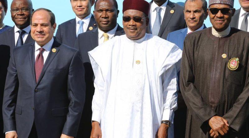 Ouverture à Assouan (Egypte) de la Conférence sur « Paix Durable, Sécurité et Développement en Afrique » en présence du Président Issoufou Mahamadou